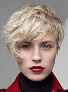 Женские стрижки для коротких волос - Модные и креативные короткие