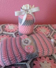 Baby blanket & wipes cover