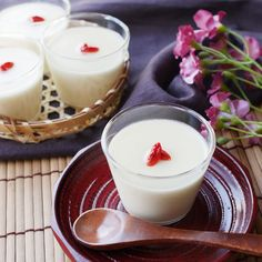 Sweet Box, Japanese Food, Japanese Desserts, Food Decoration, Tea Time, Mousse, Jelly, Panna Cotta, Recipies