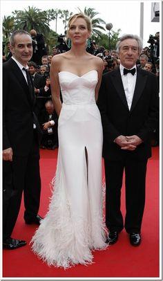 Uma Thurman Cannes 2011 #HauteCouture #RedCarpet