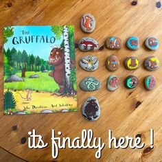 """58 Likes, 22 Comments - WildEarthCrafts (@wildearth.crafts) on Instagram: """"Here are my Gruffalo story stones !! Coming soon to my etsy shop! Available to buy…"""""""