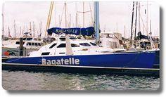 Multihull Boat Names - Bagatelle - by Boat Names Australia