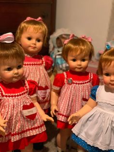 Girls Dresses, Flower Girl Dresses, Ideal Toys, Dolls, Wedding Dresses, Face, Fashion, Dresses Of Girls, Baby Dolls