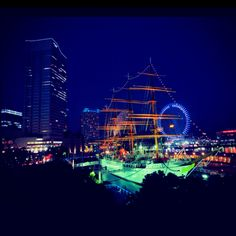 Yokohama Bay, Japan My home for a year and a half!! Love this place