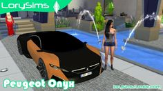 Peugeot Onyx at LorySims via Sims 4 Updates