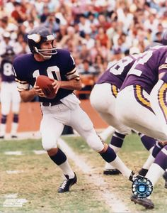 My days of being a Viking fan go all the way back to Fran Tarkenton