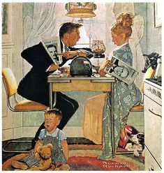 1948- The Obvious Choice- Norman Rockwell