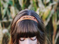 Leather Arrow Headband   Maker Crate