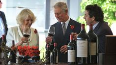 Prince Charles and the Duchess of Cornwall with Penfolds Grange • Adelaide's icons