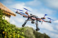 Some drones are classed as toys, but could still pose a risk to aviation.