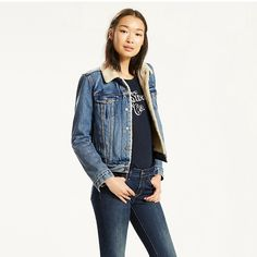 LEVI'S ORIGINAL SHERPA TRUCKER JACKET - EXTREMELY LOVABLE. #levis #cloth #