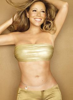 I don't much like Mariah Carey's music but I have to acknowledge that she's a stunner.