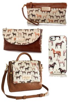 Pretty Brown Equestrian Print from Adi Amitay