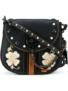 embroidered flower crossbody bag