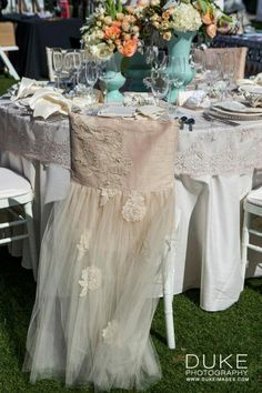 vintage lace garden romantic wedding reception decor inspiration | custom favors by Creative Touch | Fancy That! Events | Tic-Tock Couture Florals | Calligraphy Katrina | Duke Photography | WildFlower Linen