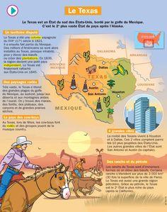 Fiche exposés : Le Texas
