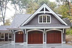 Within the previous 10 years that unfavorable view of the garage has actually altered drastically. Climatizing the garage has become far more than an afterthought. Carriage House Garage, Barn Garage, Garage Plans, Shed Plans, Garage Shop, Garage Workbench, 3 Car Garage, Dream Garage, Garage Floor Paint