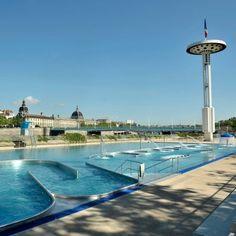 Ville de Lyon piscine Lyon France, Rhone, Scenery, Outdoor Decor, Pictures, Ride Or Die, Exit Room, City, Landscape