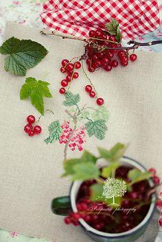 "Redcurrant (from acu book ""Gartenpoesie"") by loretoidas, via Flickr"