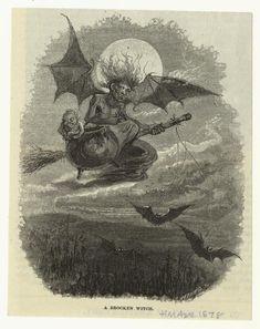 A Brocken witch.                  (1878)
