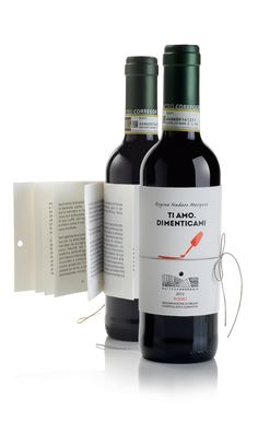 Wine with short story attached - perfect for book club!