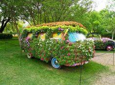 Als tuin decoratie