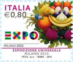 2015 -  Expo Milano 2015 -  Logo e mascotte di Expo Milano 2015