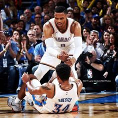 regram @lamphoto  Last night @russwest44 had 16 assists in the box score. But really he had 17. http://ift.tt/2zaiCr9