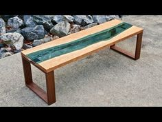 Live Edge River Coffee Table | How To Build - Woodworking - YouTube