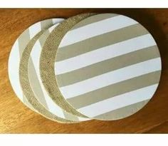 platos de sitio de mdf + funda de tela - tipo individuales Acrylic Paint On Wood, Painting On Wood, Diy And Crafts, Crafts For Kids, Arts And Crafts, Fabric Basket Tutorial, Table Set Up, Easy Sewing Projects, Decoupage