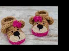 CTejidas [Crochet y Dos Agujas]: [Colección] Zapatos para Bebés a Crochet