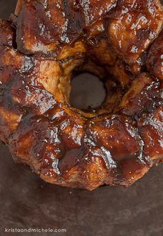 Maple Pumpkin Monkey Bread