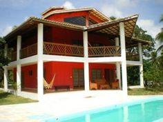 Sea view house in Diogo, Bahia, Brazil.