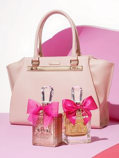 We've got this Mother's Day in the bag... literally! You'll receive a free tote bag, just for Mom, with any large spray purchase from the Juicy Couture fragrance collection. May we suggest the vibrant Viva La Juicy Rose and the exotic Viva La Juicy eau de parfums.