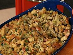 A super delicious and easy to make Thanksgiving side. Get Rachael Ray's recipe for Apple and Onion Stuffing.