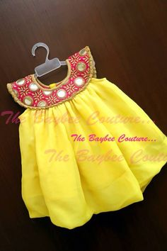 The Baybee Couture Kids Dress Wear, Kids Gown, Dresses Kids Girl, Kids Outfits, Baby Girl Dress Patterns, Baby Dress Design, Kids Blouse Designs, Kids Ethnic Wear, Kids Frocks Design