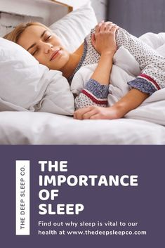Sleep is vital for a person's overall health and well-being. There are a number of reasons why sleep is so important. Read on to find out more. Why Is Sleep Important, National Sleep Foundation, Habits Of Successful People, Sleep Remedies, Mental Health Problems, Depression Symptoms, Healthy Sleep, Natural Sleep, Sleep Deprivation