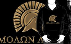 Molon lave-Spartan Warrior by augustinet