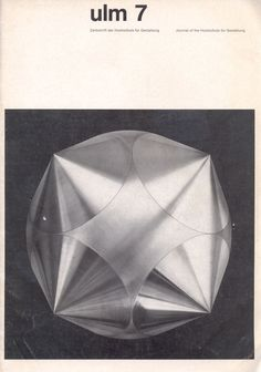 Journal of the Ulm School for Design ulm 7