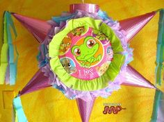 Pinata Little Pet Shop Holds Candy Star Shaped Party  #BirthdayorFestiveEvent