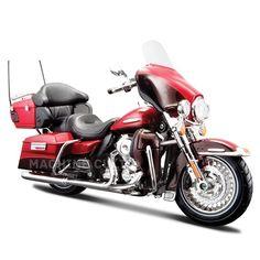 Miniatura Harley-Davidson 2013 FLHTK Electra Glide Limited - Maisto 1:12 - Machine Cult | A loja das camisetas de carro e moto