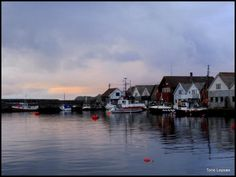 Ferkingstad harbour, Karmøy, Norway. Tone Lepsoes pictures.