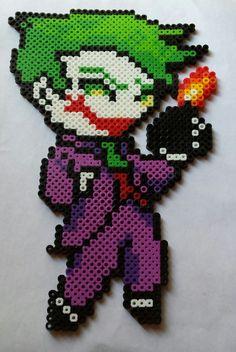 The Joker perler beads by Scarlett-Ibis