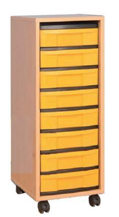 Materialcontainer, Eigentumschrank
