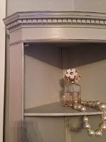Check out this item in my Etsy shop https://www.etsy.com/listing/208105524/lottie-shelved-corner-cabinet-hand