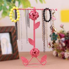 Find More Information about Hot!Double faced earrings rack jewelry holder necklace holder vintage rose jewelry display rack display rack,metal jewelry rack,High Quality rack jewelry,China jewelry wool Suppliers, Cheap rack plate from Oscar life store on Aliexpress.com