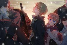 Anime: Naruto Personagens: Okita Sougo e Kagura