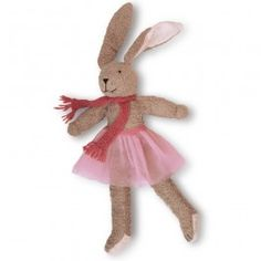 Dancing Marie - Organic Bunny Rabbit made in Germany. From Bella Luna Toys.