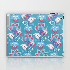 Feeling so blue today Laptop & iPad Skin by patterndesign - $25.00    Artwork by Ilka von Jan Graphic Design Typography, Laptop Skin, Decorating Your Home, Gadgets, Ipad, Iphone Cases, Presents, Art Prints, Feelings