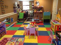 Day Care Room.
